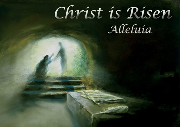Christ is risen alleleluia