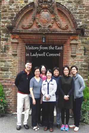 (from left to right) Kian Ming, Cheng Fong, Joan, Shirley, Gemma, Christina, Jennifer