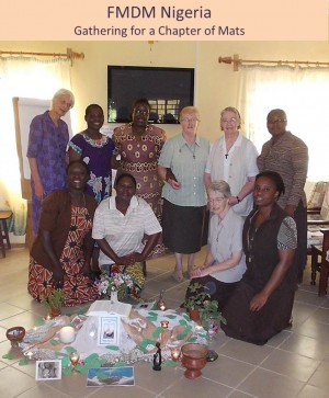 FMDM Nigeria - Gathering for a Chapter of Mats
