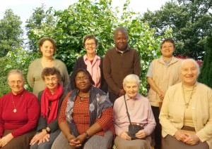 Group photos of FMDM Associates and Sisters