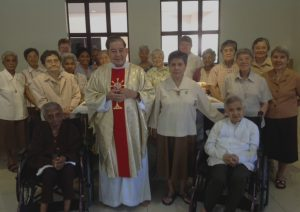 Sr. Connie, FMDM Sisters, Fr. Robin Andrews in IPOH