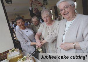 Jubilee cake cutting