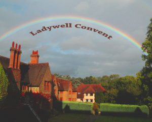 Rainbow over Ladywell building