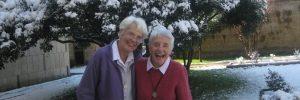 Sr Mary Jean (left); Sr Carmel (right)