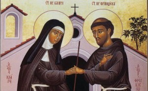 Saint Francis and Saint Clare