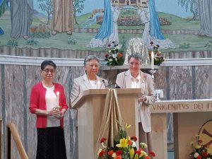 Congratulations to our Golden Jubilarians - Sisters Clare Koh, Barbara Pereira, Marie Groghan
