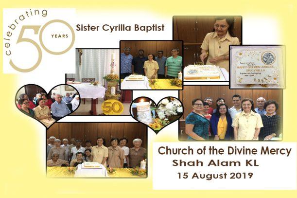Cyrilla Baptist 50 years
