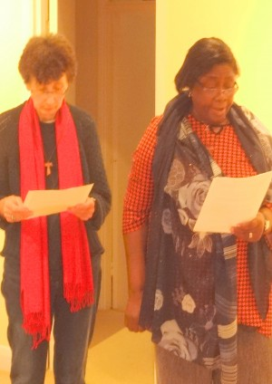 FMDM Associates, Fiona Amitage and Janet Ejobe making their Commitment