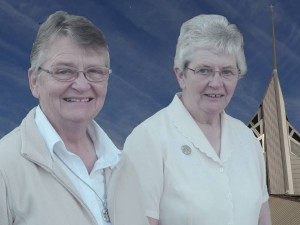 Sisters Frances Woolman and Anne O'Brien