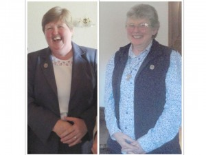 Silver Jubilarians - Sisters Helena McEvilly and Mary Burke