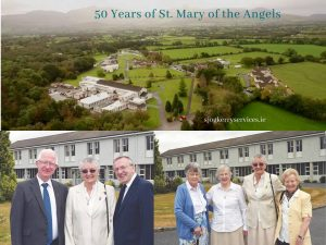 SJOG Bro Donatus Forkan, Sr Mary Rose Doyle, Bro Liam Towmey. FMDM Srs Marie and Finola Kidney, Mary Rose Doyle, Colm Sheils