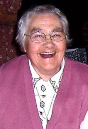 Sister Christina Fealey FMDM