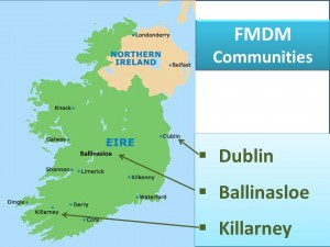 FMDM communities in Ireland